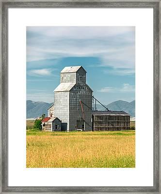Glengarry Grain Elevator Framed Print by Todd Klassy