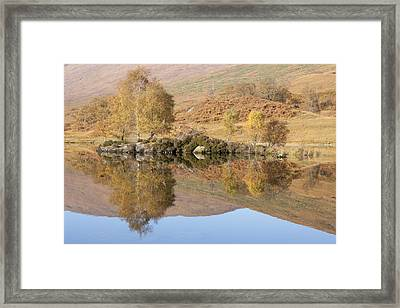 Glengarry Reflection Framed Print