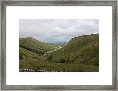 Glengesh Pass Framed Print