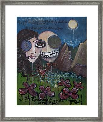 Glenn And Allison Framed Print