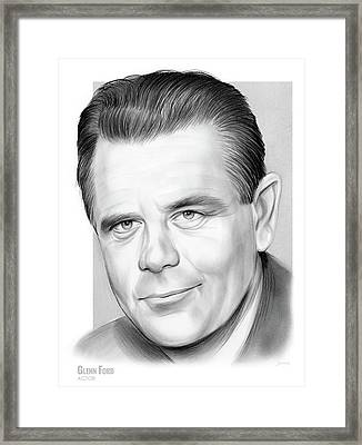 Glenn Ford Framed Print