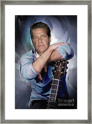 Glenn Frey Framed Print