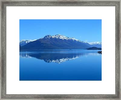 Glenorchy Road New Zealand Framed Print