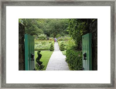 Glenveagh Castle Gardens 4272 Framed Print