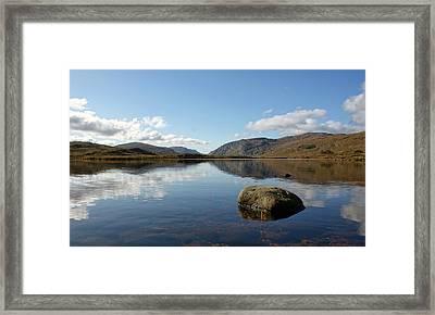 Glenveagh National Park, County Donegal, Ireland. Framed Print