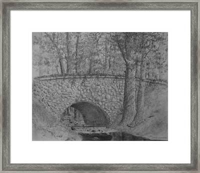 Glenview Bridge Framed Print by Jim Hubbard