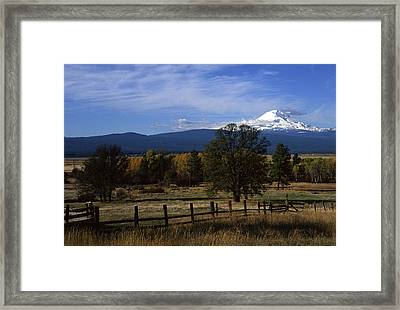 Glenwood Autumn Framed Print