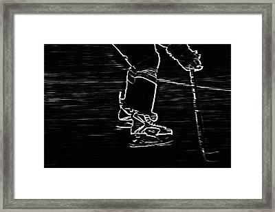 Gliding Framed Print