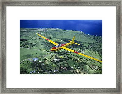 Gliding Over Hana Framed Print by Ray Mains - Printscapes