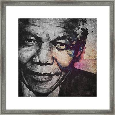 Glimmer Of Hope Framed Print by Paul Lovering