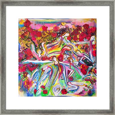 Glimpse Of Beauty Framed Print