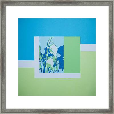 Glimpse Of Nature- Snowdrops Framed Print