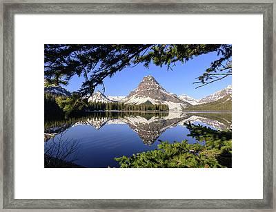 Glimpse Of Paradise Framed Print