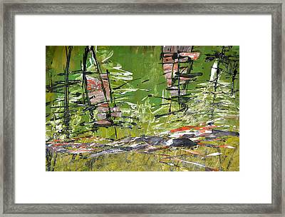 Glimpses Framed Print