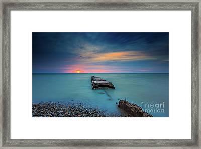 Glimpsing Sun Framed Print