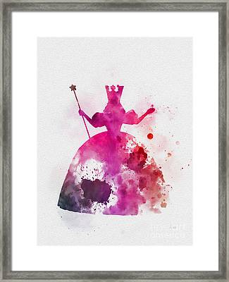 Glinda The Good Witch Framed Print