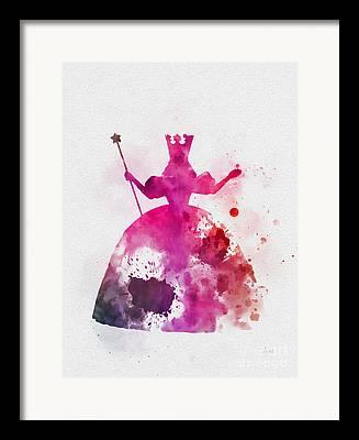 Glinda Framed Prints