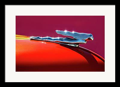 Car Mascot Framed Prints