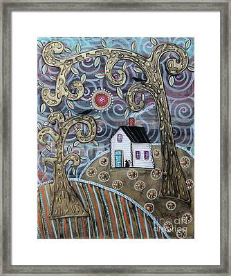 Glistening Landscape Framed Print