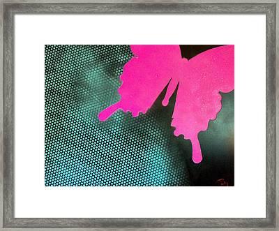 Glitter Framed Print by Trenton Heckman