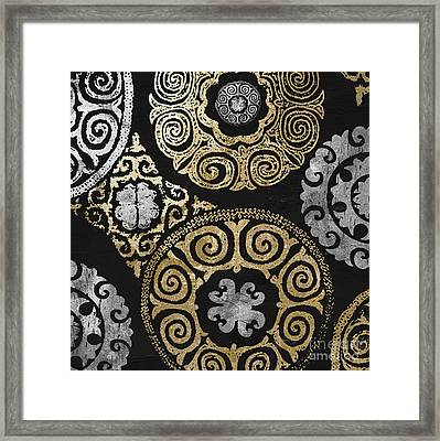 Glitterfish I Framed Print by Mindy Sommers