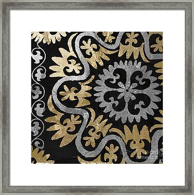 Glitterfish II Framed Print by Mindy Sommers