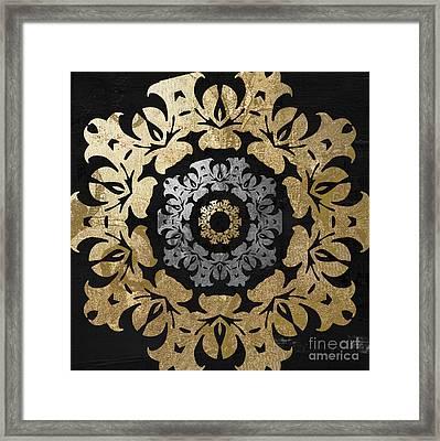 Glitterfish Iv Framed Print