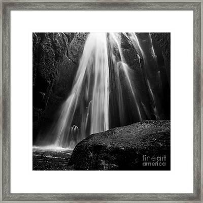Gljufrabui Iceland Framed Print