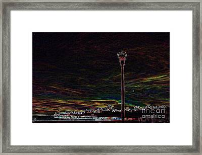 glo 250-Capitola Glowing i Framed Print by Chris Berry