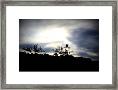 Gloaming Epiphany Framed Print