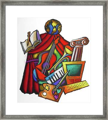 Global Arts Framed Print