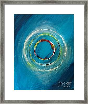 Global Business Excellence Framed Print by Debra Abby Js