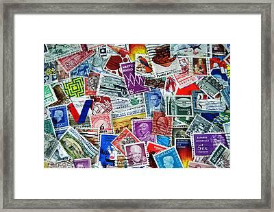 Global  Framed Print by Maria Dryfhout