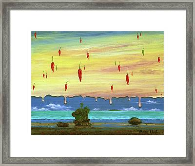 Global Meltdown Framed Print by Sharon Ebert