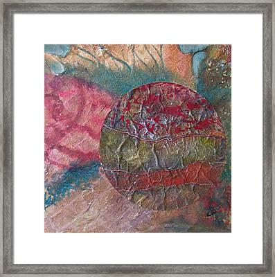 Global Series 1 Framed Print by John Vandebrooke