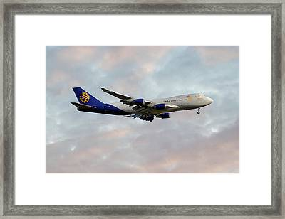 Global Supply Sysytems  Boeing 747-47uf Framed Print