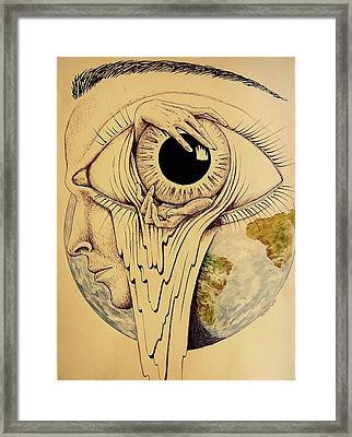 Global Vision Of The Situation Framed Print by Paulo Zerbato