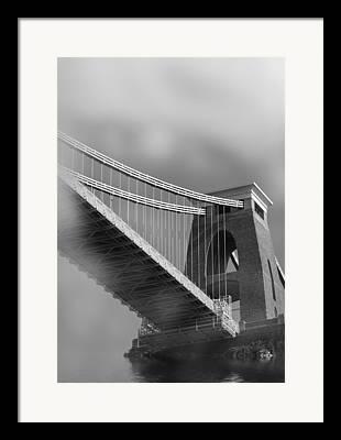 River Flooding Digital Art Framed Prints