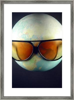 Global Warming Framed Print by Jez C Self