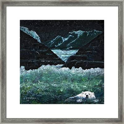 Global Warming-sold Framed Print by Lou Cicardo
