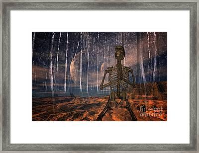 Global Warming Framed Print by Nichola Denny