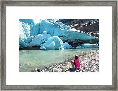 Global Warming Framed Print by Tamara Sushko