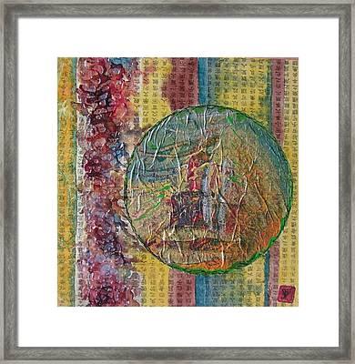 Globas Series 2 Framed Print by John Vandebrooke