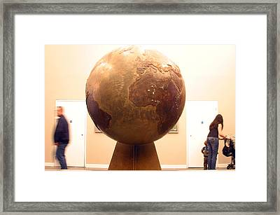 Globed  Framed Print by Jez C Self