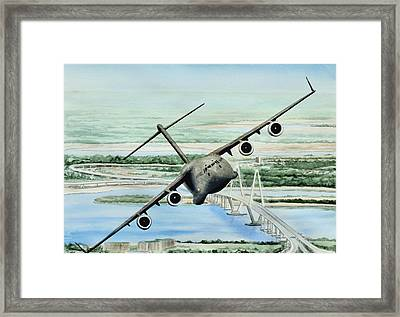Globemaster Framed Print by Lane Owen