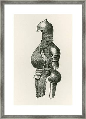 Globose Breastplate With Back Piece Framed Print