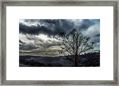 Gloomy Day Framed Print by Hyuntae Kim