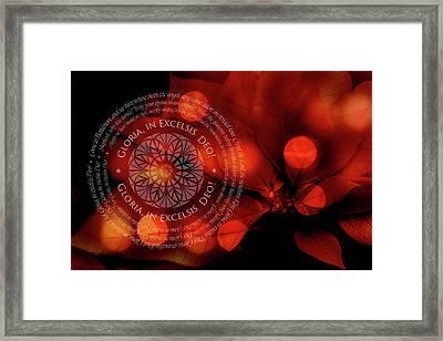 Gloria 2 Framed Print