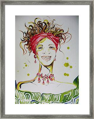 Gloria De Mi Vida Framed Print by David Alvarado