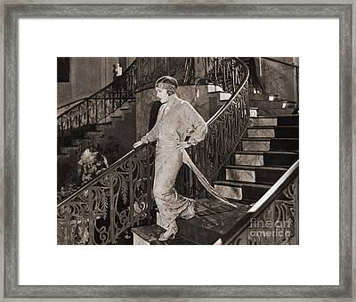 Gloria Swanson (1897-1983) Framed Print by Granger